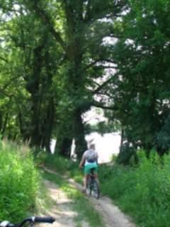 Bicyklada nad Wisłą i Świdrem – lipiec 2013