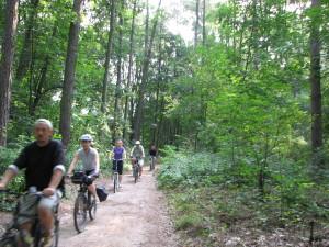 Bicyklada – Kampinos sierpień 2013